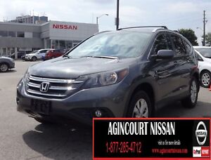 2013 Honda CR-V EX-L AWD|LOW KMS NO ACCIDENT|REAR CAM|LEATHER...