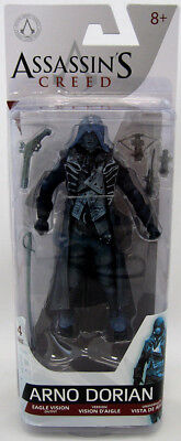 Assassin's Creed 5 Inch Action Figure Series 4 - Arno Dorian Eagle Vision Outfit - Assassin's Creed 4 Outfits