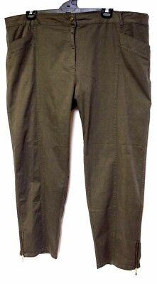 TS pants TAKING SHAPE plus sz XL / 24 Makes Me Wonder Pant stretch cotton NWT!