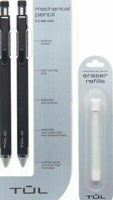 Tul 0.5mm Mechanical Pencils Eraser Refills Leads Pentel B