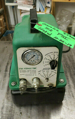 Greenlee 37300 Electric Hydraulic Pump Assembly Without Pendant Controller.