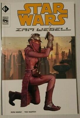 STAR WARS Zam Wesell Graphic Novel BOOK Lucasfilm First Edition 2002