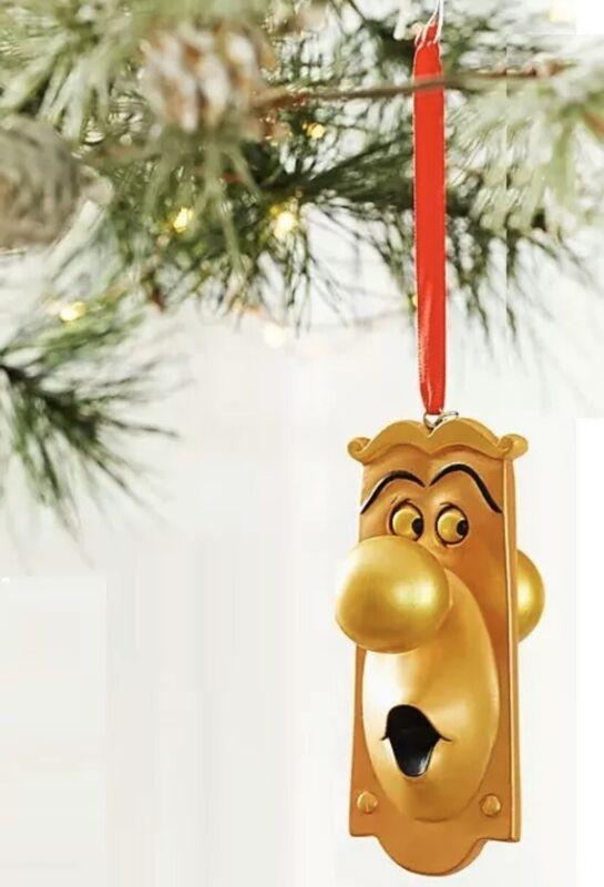 Disney Store Christmas Ornament DoorKnob Alice in Wonderland Sketchbook