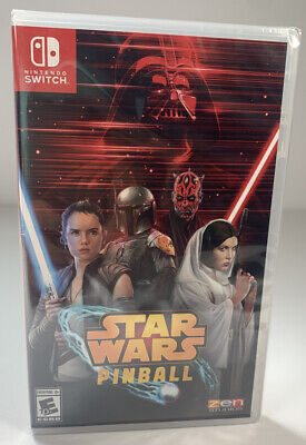 STAR WARS PINBALL - Nintendo Switch 2019 FREE SHIPPING TODAY Factory SEALED