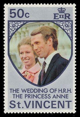 ST. VINCENT 358 (SG374) - Princess Anne Royal Wedding (pa28144)