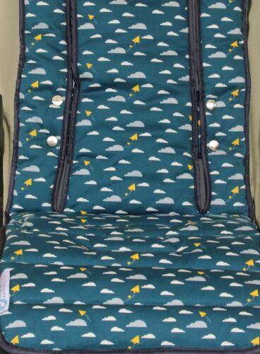 Keep Me Cosy™ Pram Liner, Universal, 100% Cotton Fabric - Playful Plane