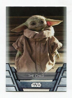 2020 Topps Star Wars Holocron Series Baby Yoda The Child #N-21S SP