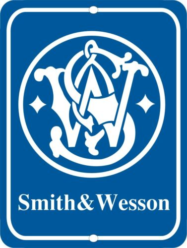 "SMITH & WESSON Firearms Metal Aluminum Tin Sign 9"" x 12"""