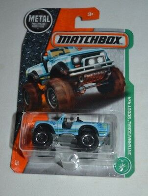 2017 MATCHBOX MBX OFF ROAD INTERNATIONAL SCOUT 4X4 116/125