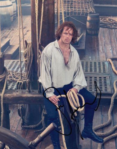 Sam Heughan signed Outlander 10x8 photo AFTAL UACC Signing Details & COA [16319]