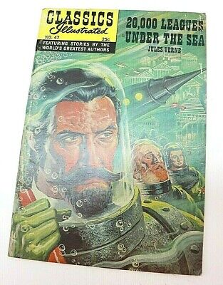 20,000 Leagues Under The Sea Classics Illustrated  No 47  item#Z1749](Under The Sea Items)