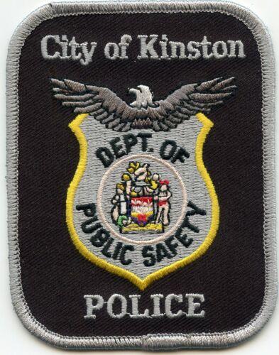 KINSTON NORTH CAROLINA NC POLICE PATCH