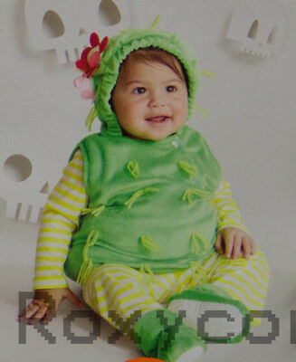 Halloween Infant Hyde and EEK Infant Green Cactus Costume Size 6-12 months - Cactus Costume Halloween