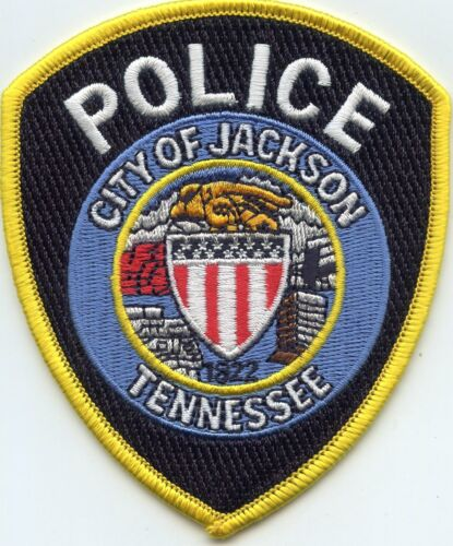 JACKSON TENNESSEE TN POLICE PATCH