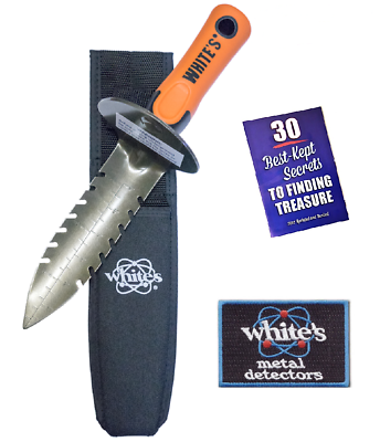 White's DigMaster Digger w/ Iron-On Patch & Booklet 601-0073