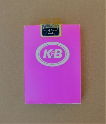 K&B Drugstore Playing Cards - Sealed