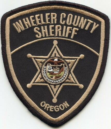 WHEELER COUNTY OREGON OR SHERIFF POLICE PATCH