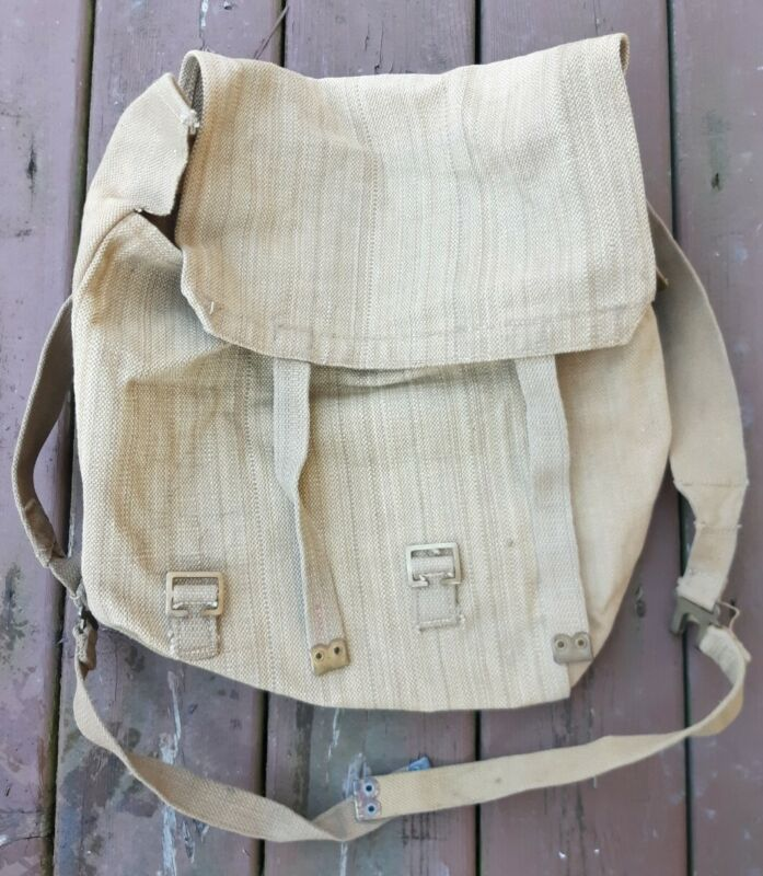 Vtg. UK British Army Military P37 Backpack Field Pack