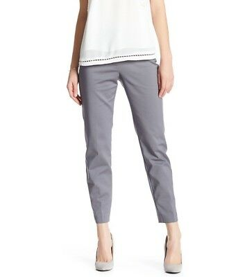 $68 Philosophy Apparel Slant Pocket Ankle Pants Women's size 2 Chrome  #7538