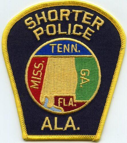 SHORTER ALABAMA AL POLICE PATCH