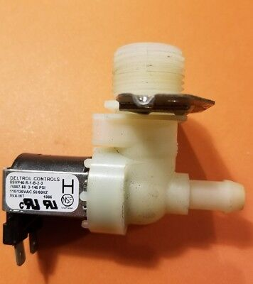 Bunn Deltrol Controls 36233.0000 Dsvp40-r-1-b-2-3 110120vac 5060hz Water Inlet