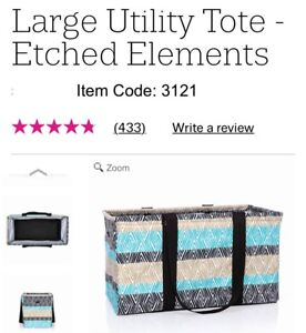 Thirtyone Large Utility, NEW in package. Etched elements