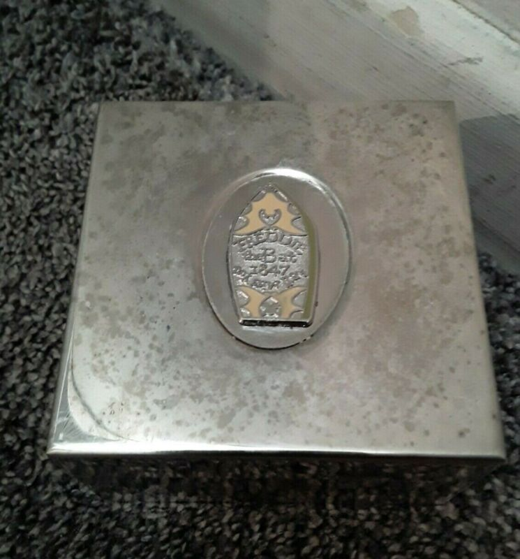 DISNEYLAND HAUNTED MANSION SPECIAL EVENT SILVER BOX