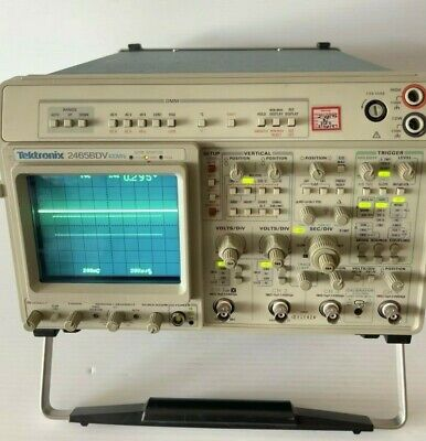 Tektronix 2465bdv 400mhz 4-channel Oscilloscope