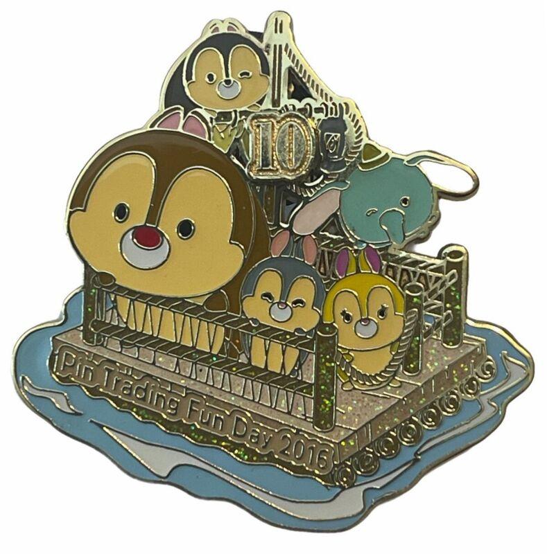 HKDL - Pin Trading Fun Day 2016 - Rafts To Tarzan