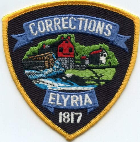 ELYRIA OHIO OH CORRECTIONS DOC police PATCH