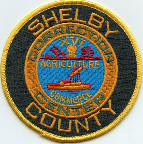 SHELBY COUNTY TENNESSEE TN CORRECTION CNTR DOC CORRECTIONS sheriff police PATCH