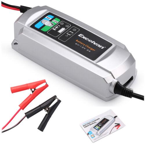 Battery Charger Maintainer 6v 12v Amp Volt Trickle Rv Car