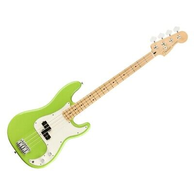 New Fender Player FSR Precision P Bass, Maple Fingerboard, Electron Green