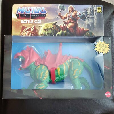 Masters The Universe Origins Battle Cat He Man Mattel MOTU 6.75 Action Figure R - $38.95