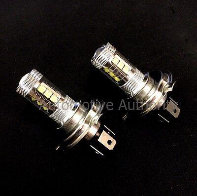 For Polaris Snowmobiles 80W LEDs Super White Headlights Bulbs