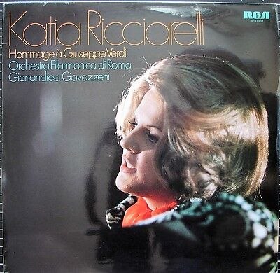 "Katia RICCIARELLI (- GAVAZZENI) ""Hommage à Giuseppe VERDI"""