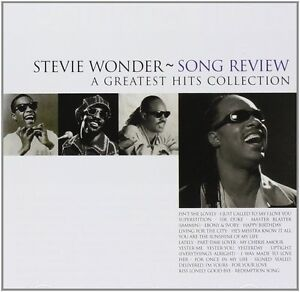 STEVIE WONDER SONG REVIEW A GREATEST HITS COLLECTION CD NEW