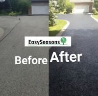 Asphalt Driveway Sealing Call Now for Great Deals