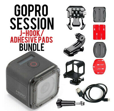 🚨🚨 Refurbished GoPro HERO Session Waterproof HD Action Camera W/ Bundle