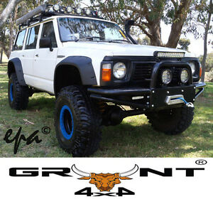 NISSAN GQ PATROL / FORD MAVERICK GRUNT 4X4 MONSTER WHEEL ARCH FLARES