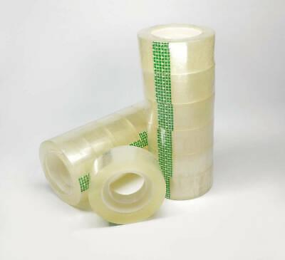 Clear Transparent Tape 34 X 1100 Dispenser Refill Tape Office