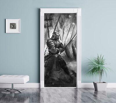 Kampf zwischen Samurai und Ninja Kunst B&W - - Ninja Tur