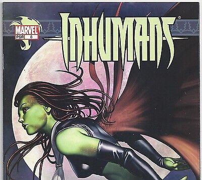 Marvel Comics THE INHUMANS Volume 6 #8 Tonaja, Alaris from Feb. 2004 in VF- con.