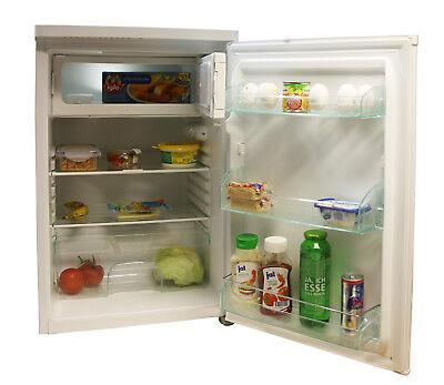 Kühlschrank mit Eisfach Gefrierfach Kühlgerät 118 Liter 84cm Weiß A++