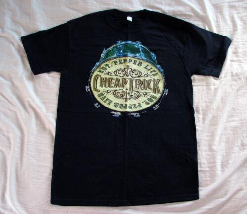 Cheap Trick Vintage NEW T Shirt Sgt Pepper Concert   PROGRAM + Ticket   MED
