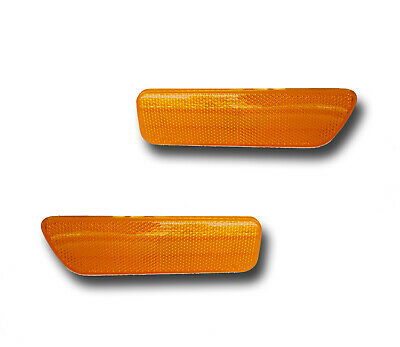 Fits 99-05 Volkswagen Golf Jetta Driver Passenger Side Marker Light Lamp 1 Pair