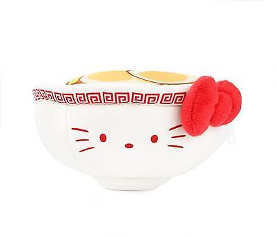 "Sanrio Hello Kitty 8"" Doll Stuffed Toy :Reversible Plush: Ramen Noodles"