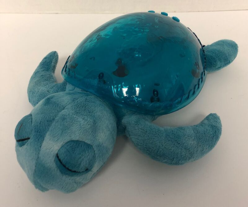 Cloud B Tranquil SEA TURTLE Blue Underwater Lights Music Waves Sleep Soother