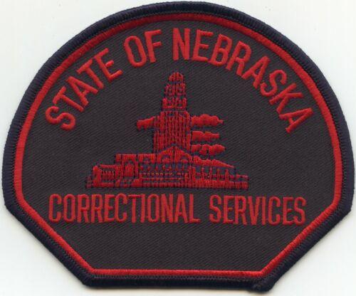 NEBRASKA NE STATE DEPARTMENT OF CORRECTIONS DOC sheriff police PATCH