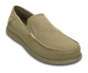 09bdbb11f7a1a Crocs Men's Santa Cruz 2 Luxe Slip-ons - Khaki (202056-261) for sale ...